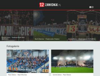 12zawodnik.pl screenshot