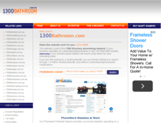 1300bathroom.com screenshot