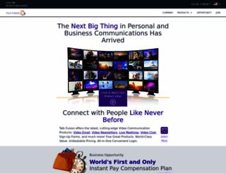 1352788.talkfusion.com screenshot