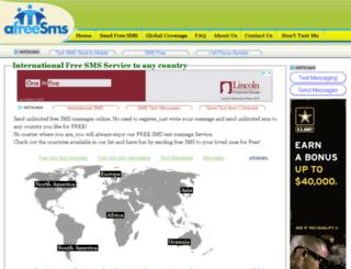 139.afreesms.com screenshot