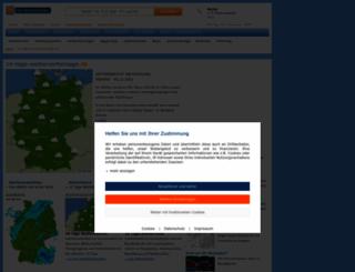14-tage-wettervorhersage.de screenshot