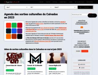 14.agendaculturel.fr screenshot