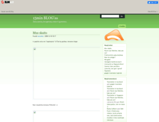 15min.blogas.lt screenshot