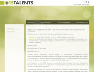 15talents.com screenshot