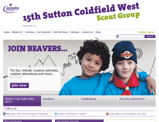 15thsuttoncoldfield.ukscouts.org.uk screenshot