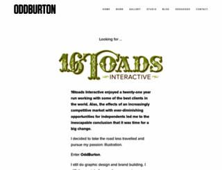 16toads.com screenshot