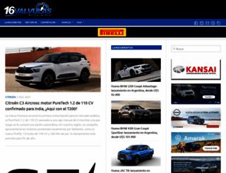 16valvulas.com.ar screenshot