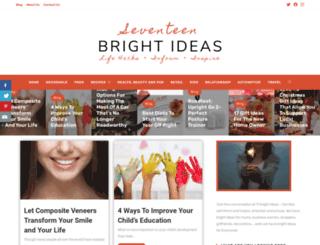 17brightideas.com.au screenshot