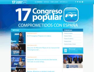 17congreso.pp.es screenshot