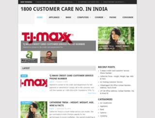 1800customercare.com screenshot