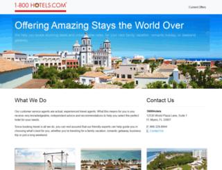 1800hotels.com screenshot