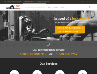 1800locksmith.com screenshot