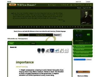 1828.mshaffer.com screenshot