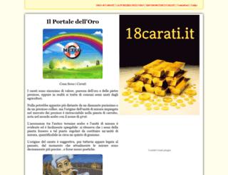 18carati.it screenshot