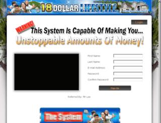 18dollarlifestyle.us.to screenshot