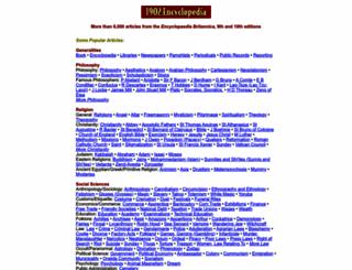 1902encyclopedia.com screenshot