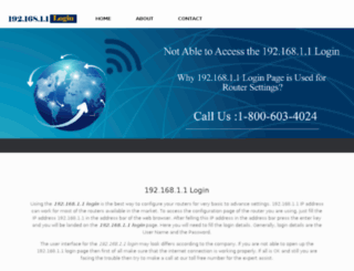 19216811login.com screenshot