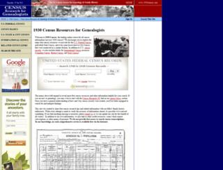 1930census.com screenshot