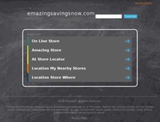 1958b.emazingsavingsnow.com screenshot