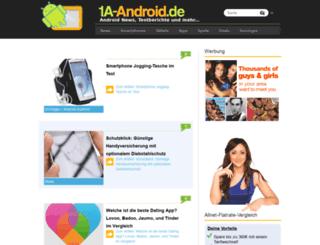 1a-android.de screenshot
