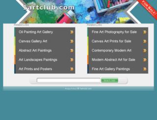 1artclub.com screenshot