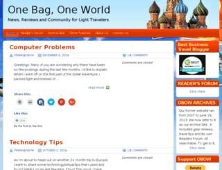 1bag1world.com screenshot