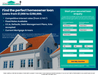 1clickhomeloans.co.uk screenshot
