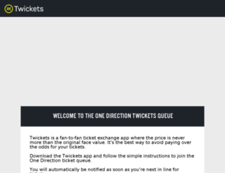 1d.twickets.co.uk screenshot
