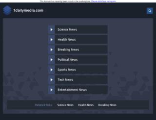 1dailymedia.com screenshot