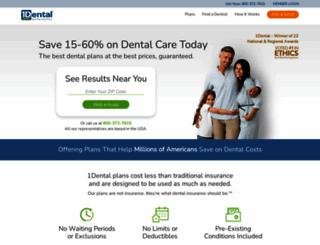 1dental.com screenshot