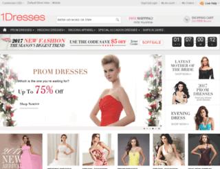 1dresses.com screenshot