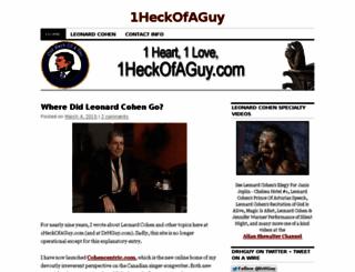 1heckofaguy.com screenshot