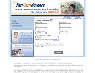 1hour-cashadvance.com screenshot