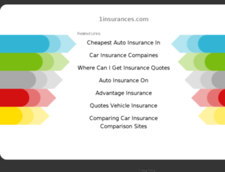 1insurances.com screenshot