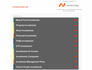 1investments.biz screenshot