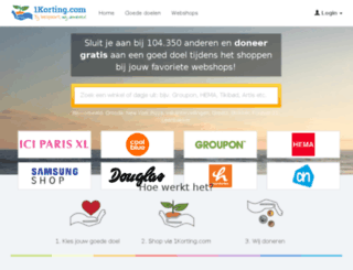 1korting.nl screenshot