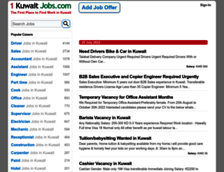 1kuwaitjobs.com screenshot