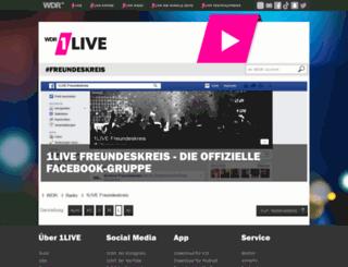 1live-freundeskreis.de screenshot