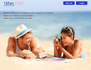 1man1girl.com screenshot