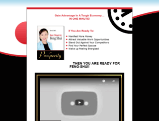 1minutefengshui4prosperity.com screenshot