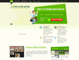 1minutesite.es screenshot