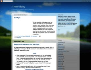 1newbaby.blogspot.com screenshot