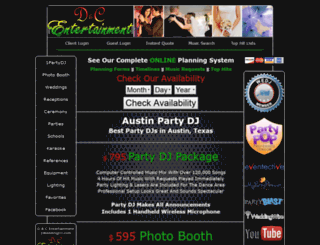 1partydj.com screenshot