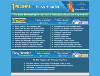 1prompter.com screenshot