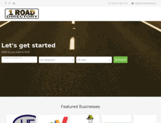 1road.directory screenshot