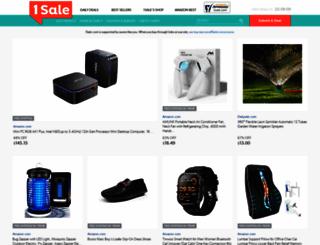 1saleaday.com screenshot