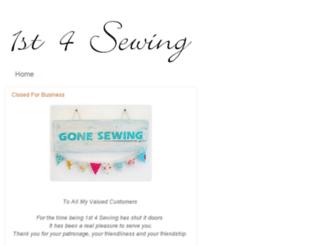 1st4sewing.com screenshot