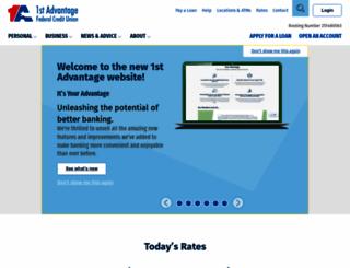 1stadvantage.org screenshot