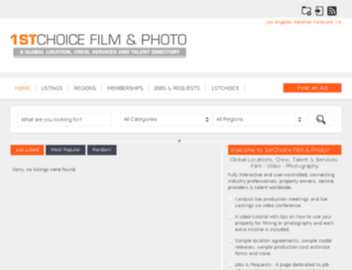 1stchoicefilmandphoto.com screenshot