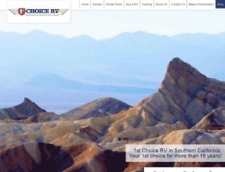 1stchoicerv.com screenshot